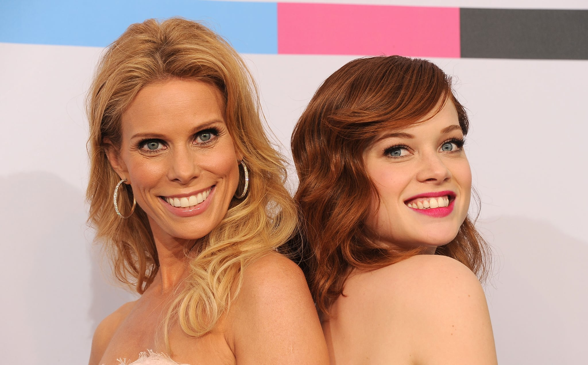 Cheryl Hines went back to back with her Suburgatory costar, Jane Levy.