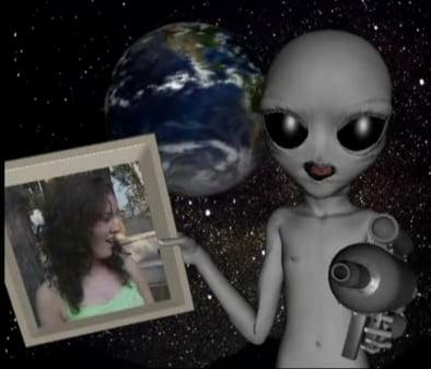 An Alien Delivered Valentine for Lisa Peters