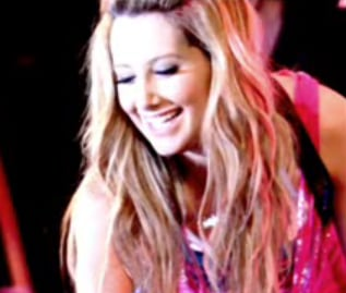 "Ashley Tisdale Sings ""Never Gonna Give You Up"""