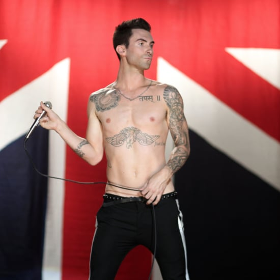 Adam Levine's Mermaid Back Tattoo