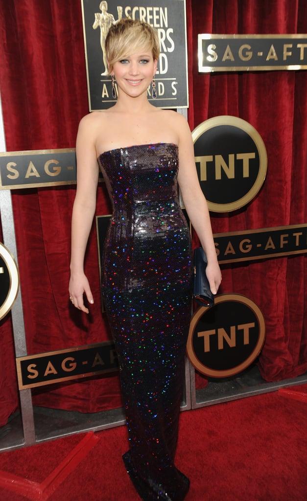 Jennifer Lawrence at the SAG Awards 2014