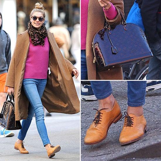 Jessica Hart Louis Vuitton Bag