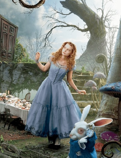 Alice in Wonderland Movie Clothes