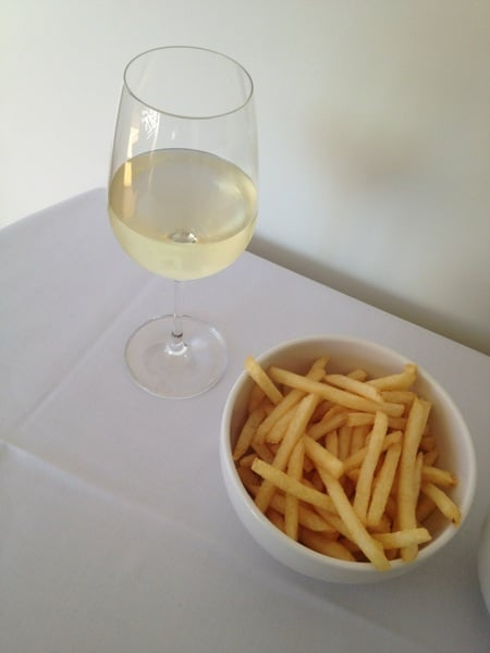 Chrissie Swan tweeted a picture of her pre-Logies meal.