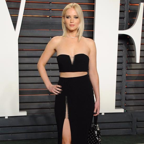 Jennifer Lawrence at Vanity Fair Oscars Party 2016