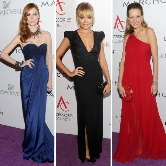 Pictures of Nicole Richie, Petra Nemcova, Agyness Deyn, Coco Rocha and more at the Accessories Counsel ACE Awards!