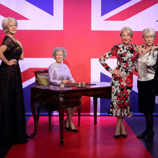Helen Mirren Meets Wax Figures