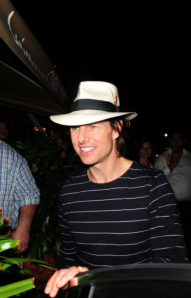 Tom Cruise and Katie Holmes at Larios in Miami