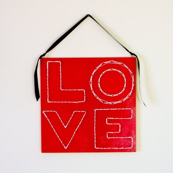 Love Hanging Art