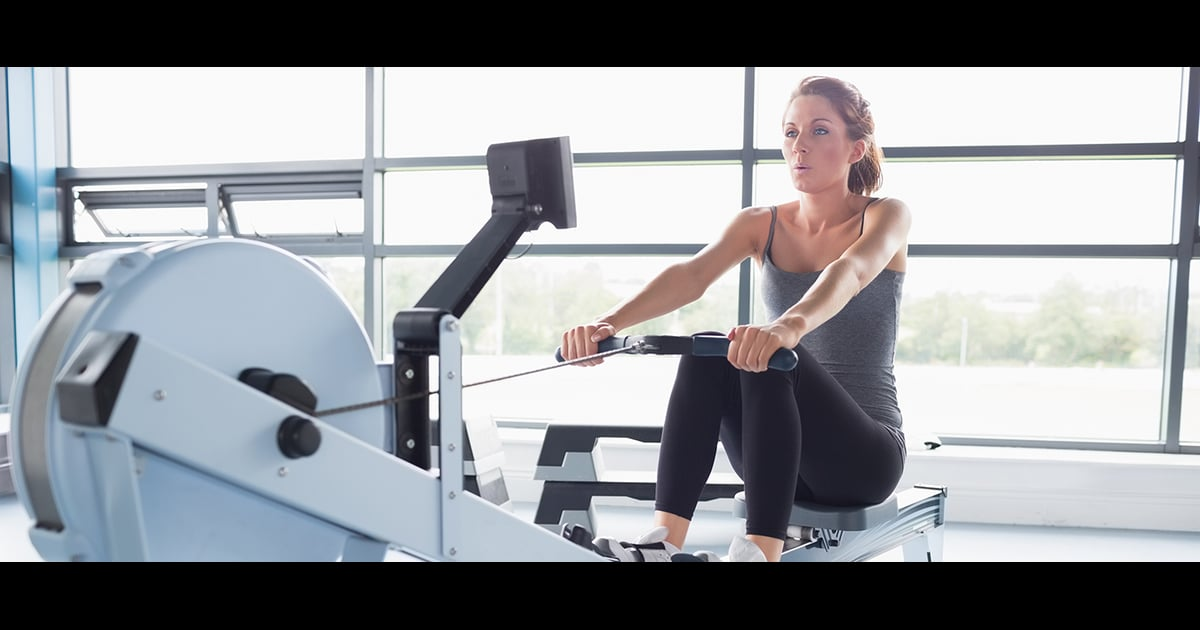 Rowing Machine Weight Loss >> Rowing Machine Interval Workout | POPSUGAR Fitness