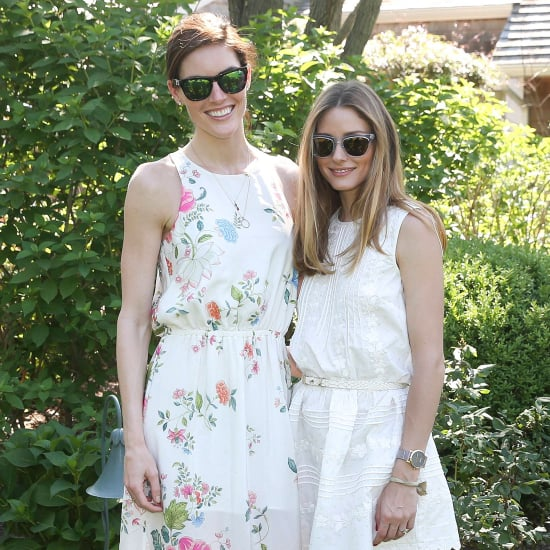 Olivia Palermo White Dress Street Style