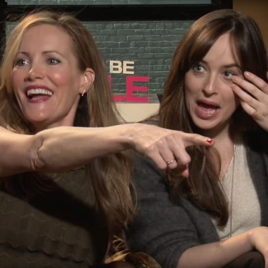 Leslie Mann and Dakota Johnson Hit on Reporter Video