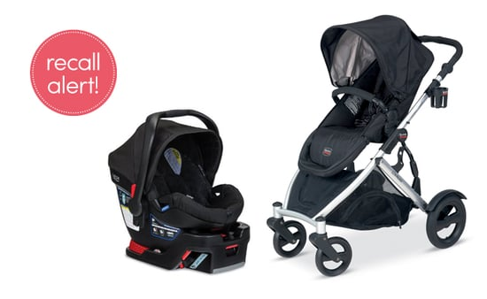 Recall Alert! Britax Car Seats, Stroller And Travel System
