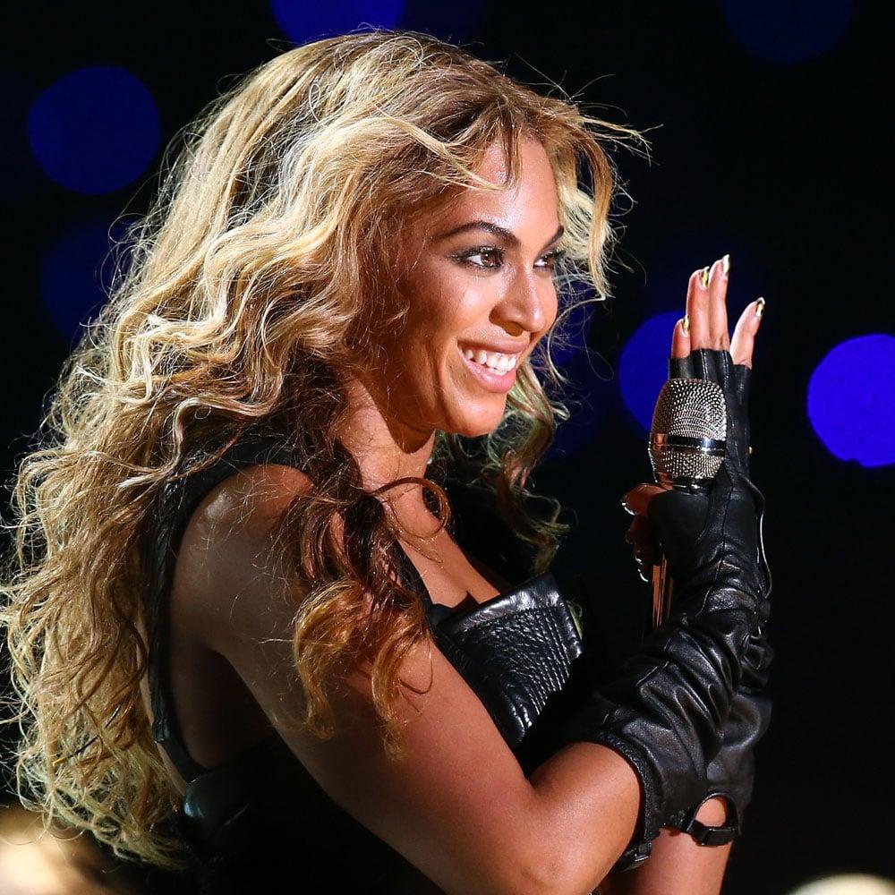 Gold Nails, Curls + Sasha Fierce: Beyoncé's Super Bowl Half-Time Show