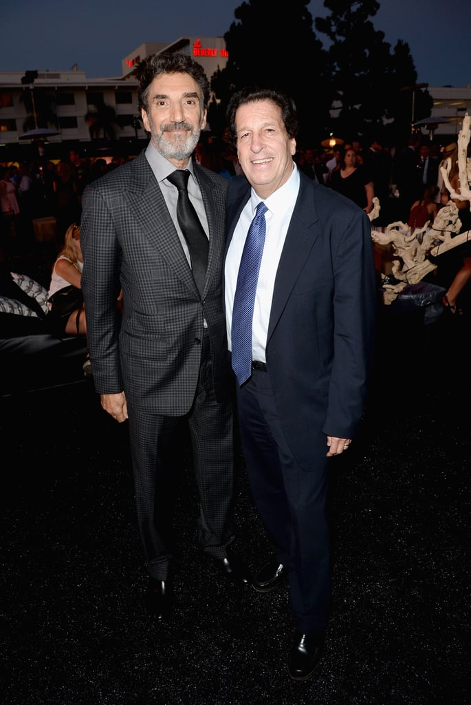 Chuck Lorre and Peter Roth