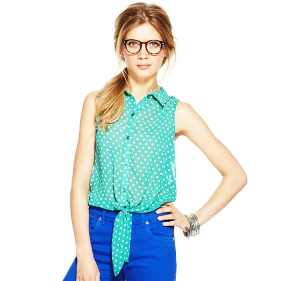 Tie Front Pants and Tops Spring 2012