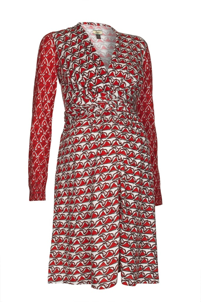 Issa Print Dress in Red