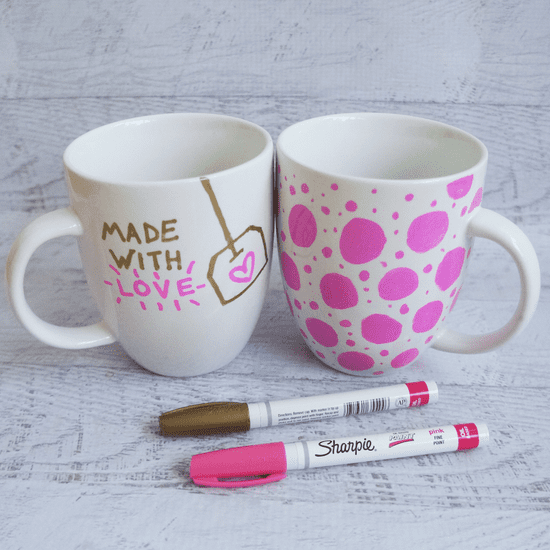 Sharpie Mug DIY Project