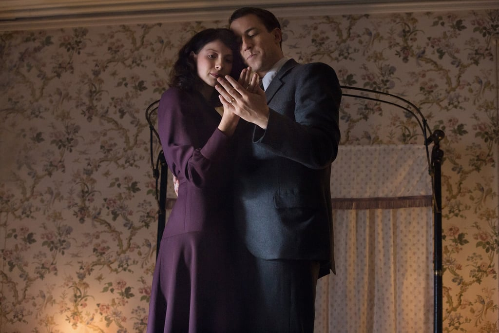 Frank and Claire in a quiet moment.  Courtesy of Starz