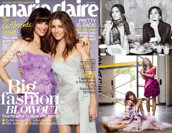 Photos of Marie Claire Jennifer Garner and Jessica Biel