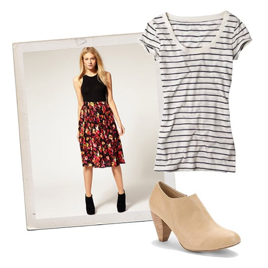 Basic Tees and Jazzy Skirts