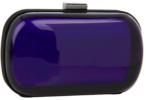 BCBGeneration - Morgan Lucite Minaudiere (Cobalt) - Bags and Luggage