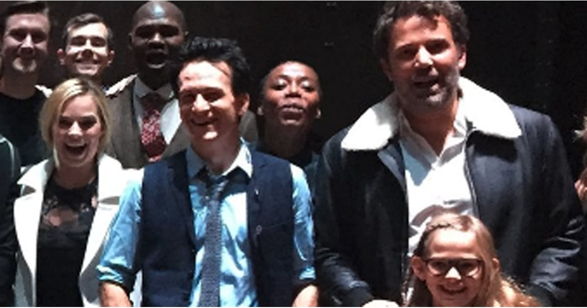 Ben Affleck Takes His Daughter Violet to See the Harry Potter Play in London