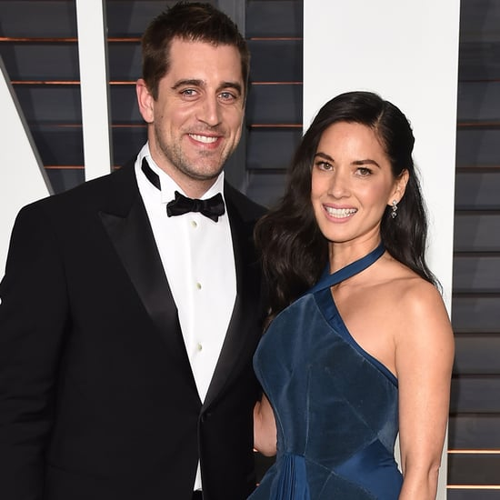 Olivia Munn and Aaron Rodgers Sword Fight   Video