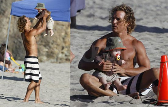 Okay, Who Gave McConaughey The Baby?