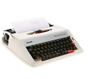 Vintage-Style Typewriter From Urban Outfitters