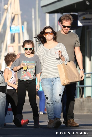 Drew Barrymore and Will Kopelman took young family members out in LA.