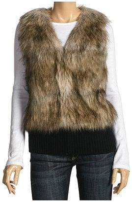 The Look For Less: Juicy Couture Faux Fur Vest