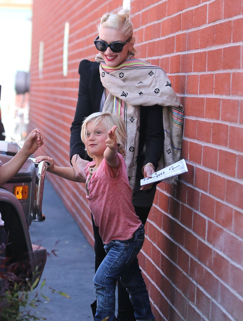 Gwen and Gavin Take a Midweek Museum Trip With Kingston and Zuma