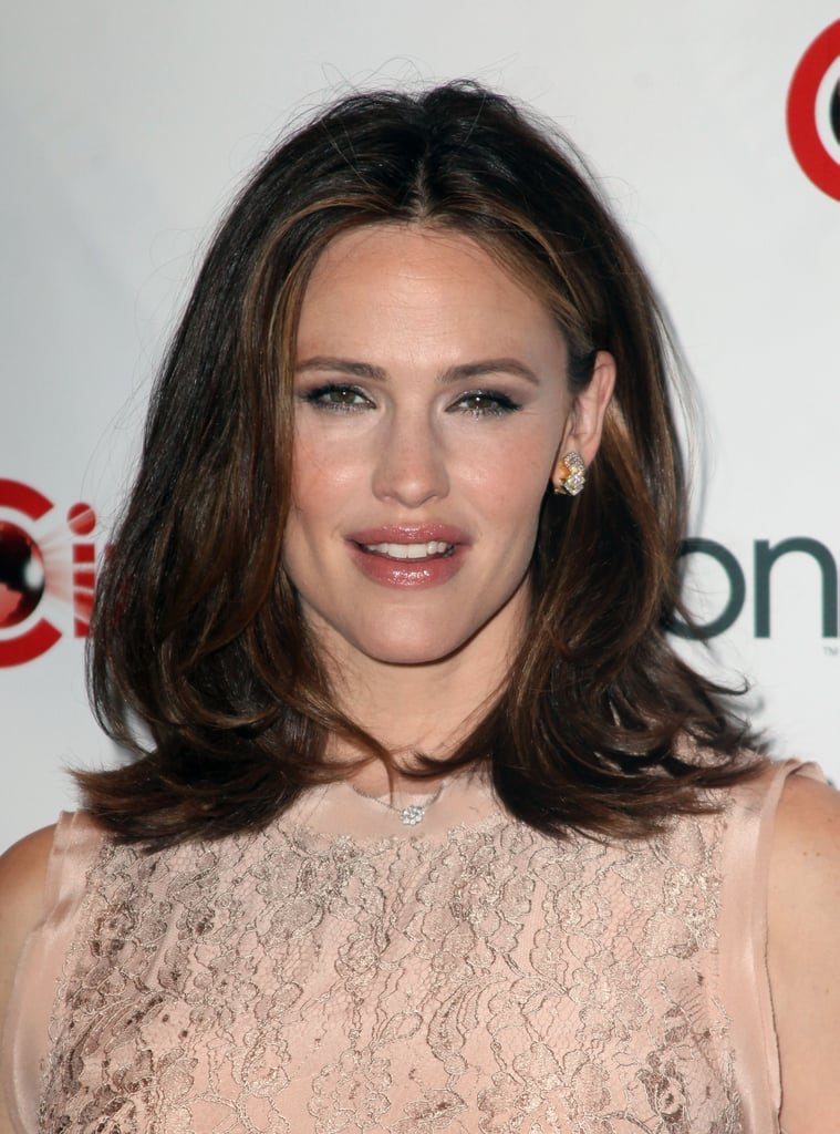 Jennifer Garner wore a pale pink dress to CinemaCon in Las Vegas.
