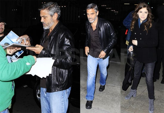 Photos of George Clooney and Anna Kendrick at a Screening of Up in the Air in LA