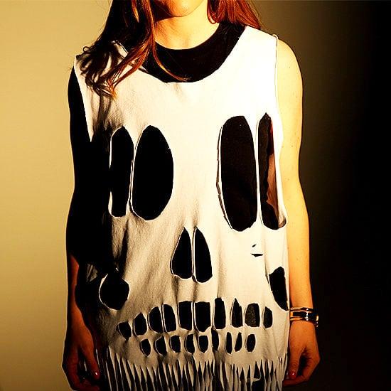 DIY Skull Tee Halloween Costume | Video