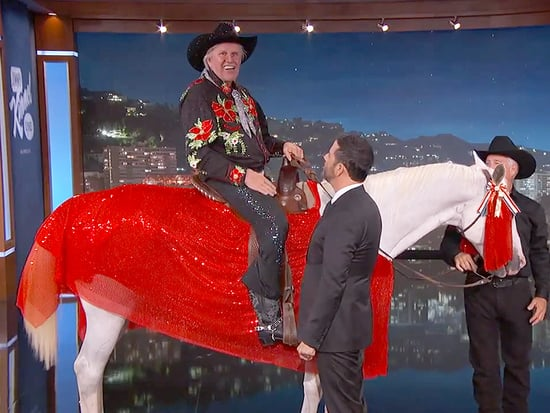 And the Horse He Rode in on: Gary Busey Announces He's Joining Dancing With the Stars Atop a Snazzy Stallion
