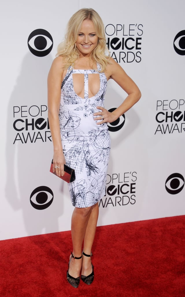 Presenter Malin Akerman was just one of many gorgeous ladies on the red carpet.
