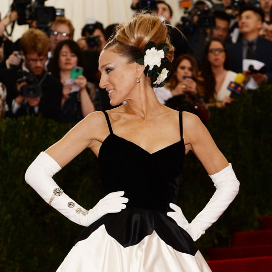 Sarah Jessica Parker in Oscar de la Renta   Met Gala 2014