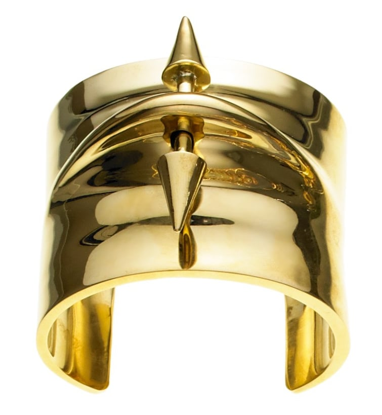Hollywood-beloved Jennifer Fisher just revealed her revamped website, and it's entirely too easy to shop for her simple but standout pieces. I've been wanting to find a great wide gold cuff ($940) I could wear every day for years, and 2014 just might be the year.  — Leah Melby, associate editor