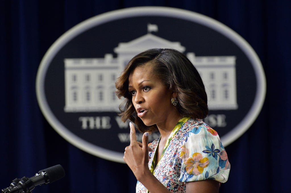 Michelle Obama spoke at a screening of The Powerbroker: Whitney Young's Fight For Civil Rights on Tuesday.