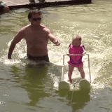 This Girl Just Broke a Waterskiing World Record at Only 6 Months Old!
