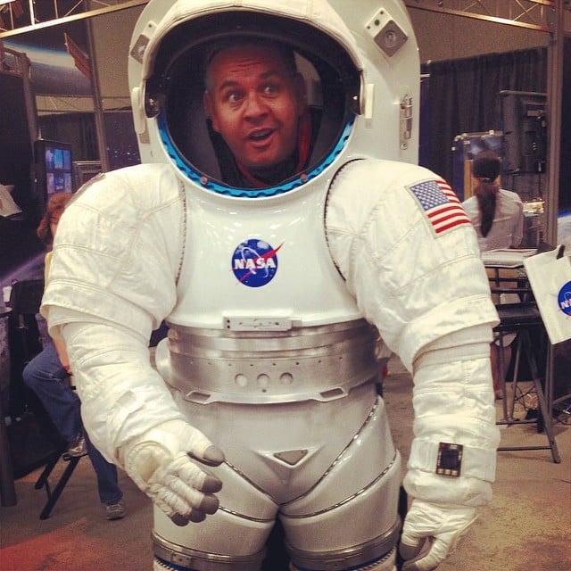 astronaut badges uniforms details - photo #22