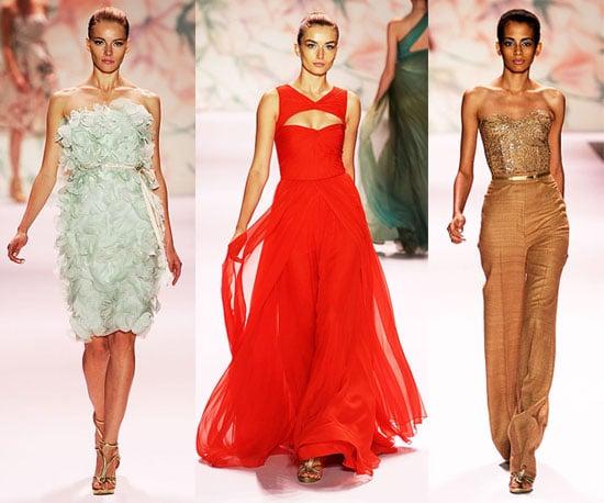 Spring 2011 New York Fashion Week: Monique Lhuillier 2010-09-13 15:30:42