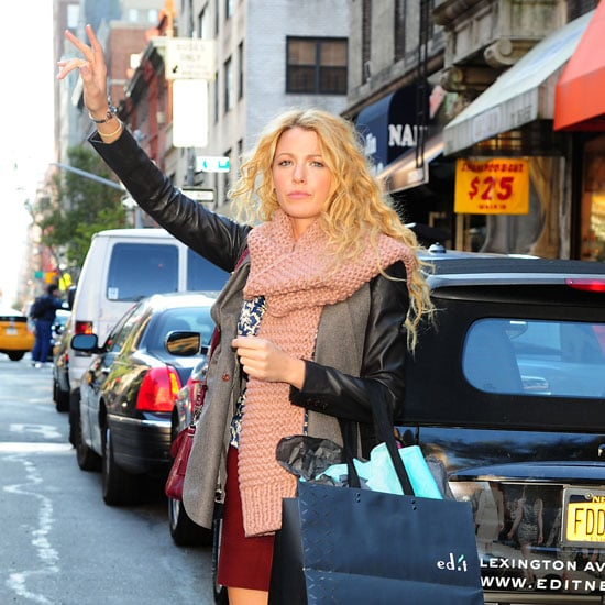 Blake Lively Shopping at a Boutique in NYC Pictures