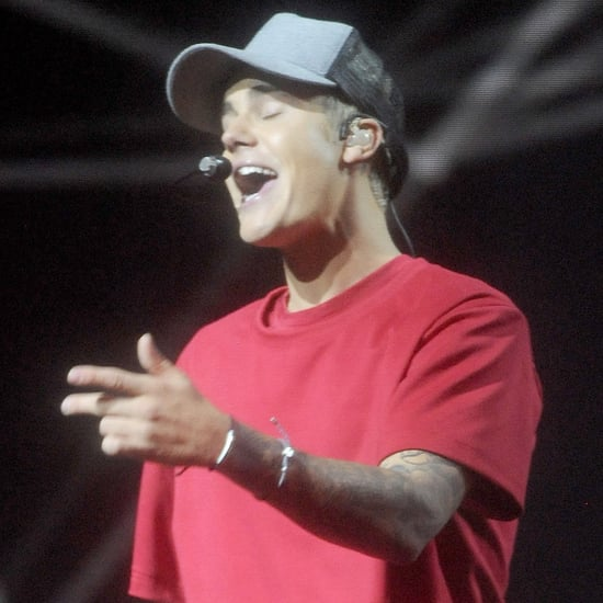 Justin Bieber Performs at the MTV EMAs in 2015