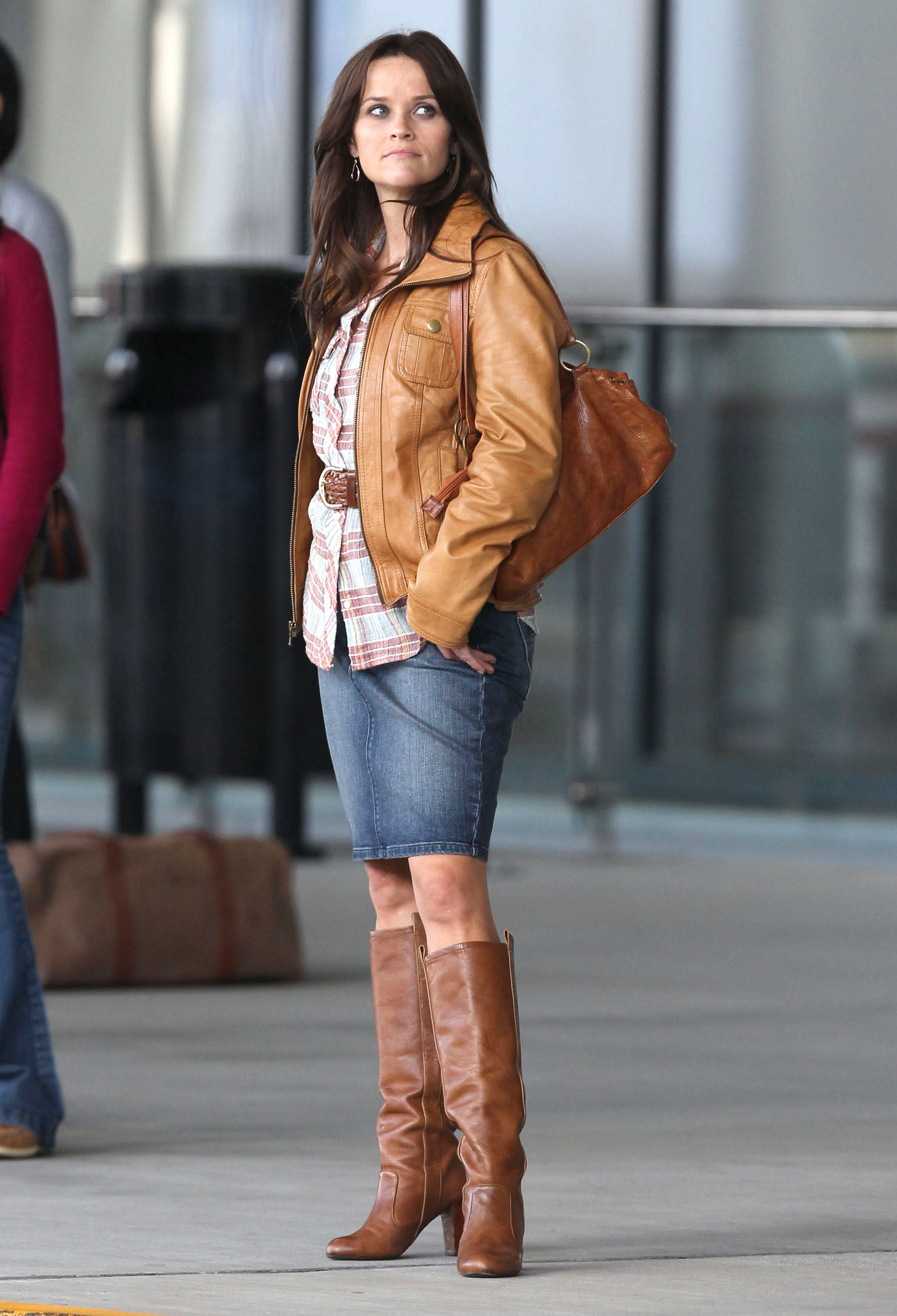 Reese Witherspoon returned to the set of The Good Lie.