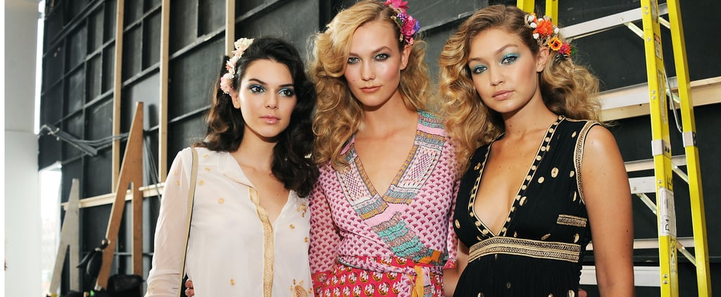 Why Gigi Hadid, Kendall Jenner, and Karlie Kloss Just Walked Across Your Instagram Feed
