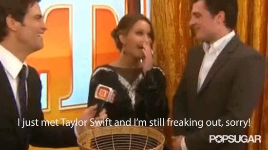 When She Couldn't Get Over Meeting Taylor Swift