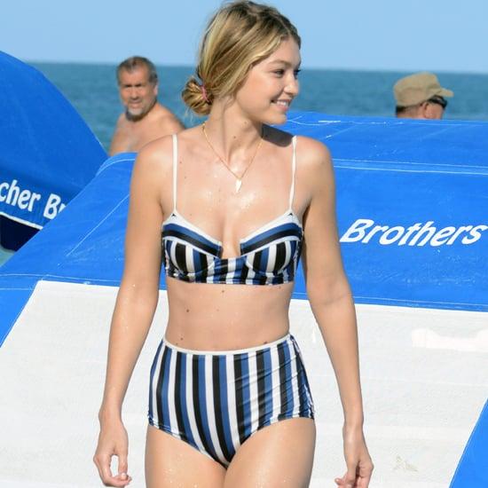 Gigi Hadid's Bikini Style
